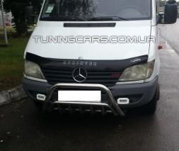 Передняя защита кенгурятник Mercedes-Benz Sprinter (95 - 00) MBSP.E5.F1-02