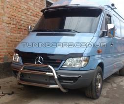 Передняя защита кенгурятник Mercedes-Benz Sprinter (95 - 00) MBSP.E5.F1-16