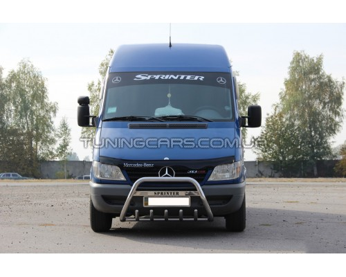 Защита переднего бампера для Mercedes-Benz Sprinter (1995-2000) MBSP.E5.F1-21 d60мм x 1.6