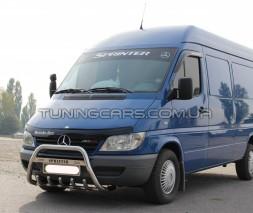 Передняя защита кенгурятник Mercedes-Benz Sprinter (95 - 00) MBSP.E5.F1-21