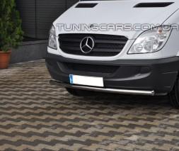 Передняя защита ус Mercedes-Benz Sprinter (14+) MBSP.07.F3-05