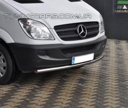 Передняя защита ус Mercedes-Benz Sprinter (07-14) MBSP.07.F3-05