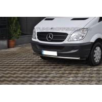 Защита переднего бампера для Mercedes-Benz Sprinter (2014+) MBSP.07.F3-05 d60мм x 1.6