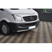 Защита переднего бампера для Mercedes-Benz Sprinter (2007-2014) MBSP.07.F3-05 d60мм x 1.6
