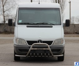 Кенгурятник Mercedes-Benz Sprinter WT004 Plus