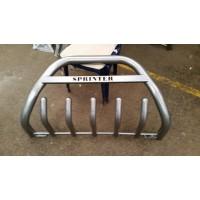 Защита переднего бампера для Mercedes-Benz Sprinter (стальной)