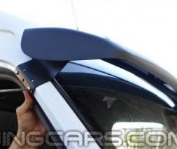"""Козырек лобового стекла для Mercedes Sprinter TDI """"Черный"""" (матовый), Мерседес Спринтер ТДИ"""