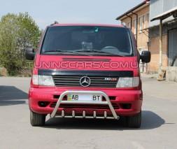 Передняя защита кенгурятник Mercedes-Benz Vito (96 - 03) MBVT.96.F1-20
