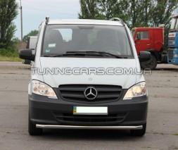 Передняя защита ус Mercedes-Benz Vito (96 - 03) MBVT.96.F3-05