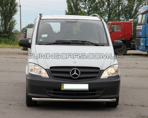 Защита переднего бампера для Mercedes-Benz Vito (1996-2003) MBVT.96.F3-05 d60мм x 1.6