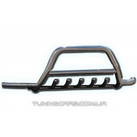 Защита переднего бампера для Mercedes-Benz Vito (1996-2003) MBVT.96.F1-07 d60мм x 1.6