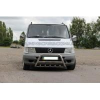 Защита переднего бампера для Mercedes-Benz Vito (2004-2009) MBVT.04.F1-09 d60мм x 1.6