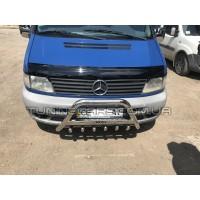Защита переднего бампера для Mercedes-Benz Vito (2010-2014) MBVT.10.F1-09 d60мм x 1.6