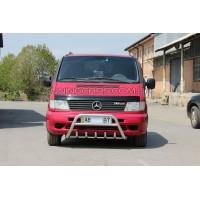 Защита переднего бампера для Mercedes-Benz Vito (1996-2003) MBVT.96.F1-20 d60мм x 1.6