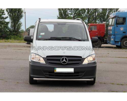 Защита переднего бампера для Mercedes-Benz Vito (2004-2009) MBVT.04.F3-05 d60мм x 1.6
