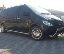 Кенгурятник Mercedes-Benz Vito WT006