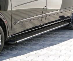 Пороги Mercedes-Benz Vito EB002 (Elegance Black)