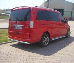 Пороги Mercedes-Benz Vito KB002 (Hunter)