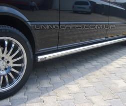 Пороги трубы Mercedes-Benz Vito (96 - 03) MBVT.96.S1-01