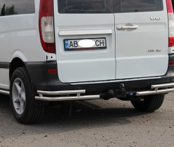Задняя защита Mercedes-Benz Vito AK003 Double