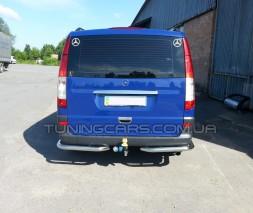 Задняя защита углы Mercedes-Benz Vito (04 - 09) MBVT.04.B1-09