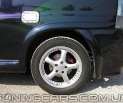 Накладки на задний бампер Mercedes Vito W638, Мерседес Вито В638