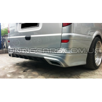 Накладка на задний бампер Mercedes Vito W639 AMG