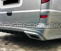 Накладка на задний бампер Mercedes Vito/Viano W639 AMG