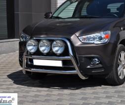 Кенгурятник Mitsubishi ASX [2010+] WT018 (Adolf)