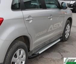 Пороги Mitsubishi ASX [2010+] AB007 (Artemis Fin)
