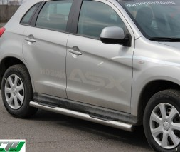 Пороги Mitsubishi ASX [2010+] BB003 (Asos)