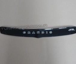 Дефлектор капота (мухобойка) для Mitsubishi Grandis с 2003–2011 г.в.