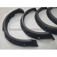 Расширители колесных арок Mitsubishi L200 под болты (вынос 8 см)