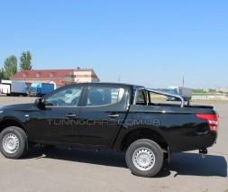 Защитная дуга для кузова Mitsubishi L200 Triton (2015+) MHTR.15.C1-01 d60мм x 1.6