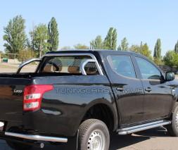 Защитная дуга для кузова Mitsubishi L200 Triton (2015+) MHTR.15.C1-02 d60мм x 1.6