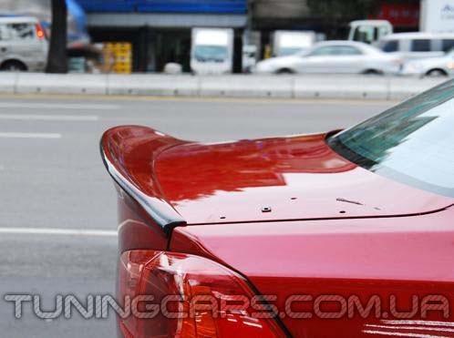 Лип спойлер для Mitsubishi Lancer X, Митсубиши Лансер 10