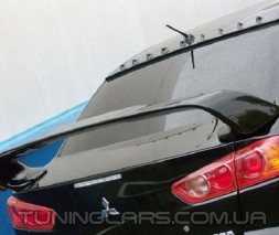 Спойлер на крышу Mitsubishi Lancer X (ABS), Гребень Митсубиши Лансер 10