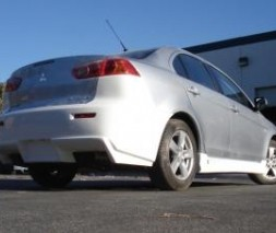 Бампер задний Mitsubishi Lancer X