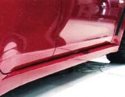 "Накладки на пороги Mitsubishi Lancer X ""EVO"""