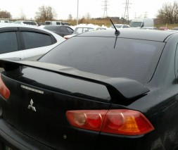 Спойлер Mitsubishi Lancer X Завод
