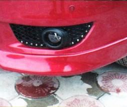 Накладка на передний бампер Mitsubishi Lancer X Завод