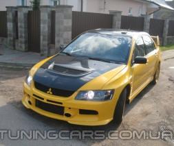 "Бампер передний Mitsubishi Lancer 9 ""Rallyart"" Evo, Митсубиши Лансер 9"