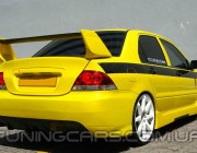 "Бампер задний Mitsubishi Lancer 9 ""Rallyart"" Evo, Митсубиши Лансер 9"