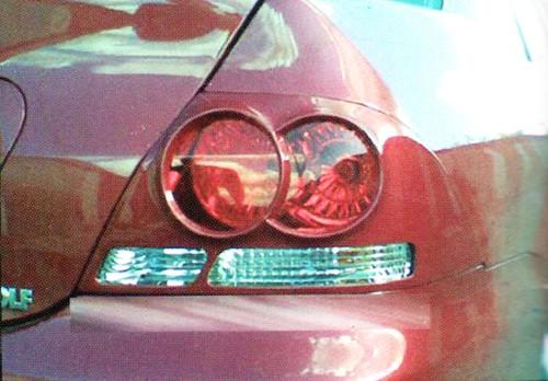 Накладка на задние фонари Mitsubishi Lancer 9