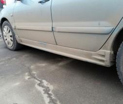 "Пороги Mitsubishi Lancer 9 ""EGR"""