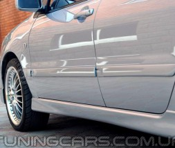 Накладки на пороги Mitsubishi Lancer 9 2.0, Лансер 9 Спорт