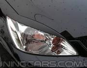 Накладки на фары Mitsubishi Lancer 9 Узкие