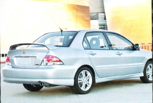 Накладка заднего бампера Mitsubishi Lancer 9.2.0