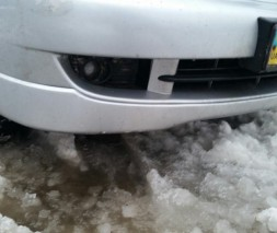 "Юбка передняя Mitsubishi Lancer 9 ""Sport"""