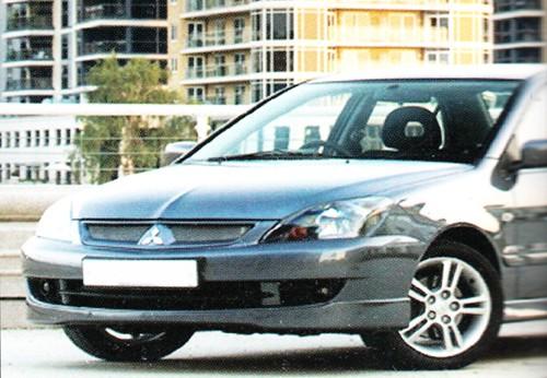 Накладка на передний бампер Mitsubishi Lancer 9.2.0